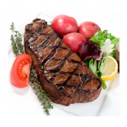 Single Grass-fed Strip Steak