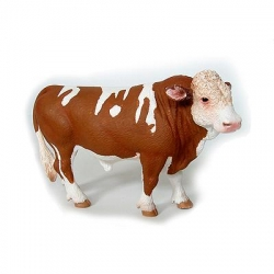 Hereford Cow Figurine